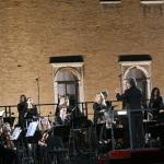 12/09/2021   Ravenna   Questa giornata segna il culmine delle celebrazioni dei 700 anni dalla morte di Dante. nella foto il maestro Riccardo Muti si appresta a dirigere il concerto che sancira' la conclusione ufficiale  delle celebrazioni.