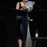 """Foto Nicoloro G. 2010/07/19 Milano Al Teatro Dal Verme Undicesima edizione di """" La Milanesiana """", che ha per tema """" Il paradosso """". Dodicesima serata della rassegna di musica e letteratura. nella foto Nicoletta Braschi"""