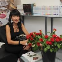 """Foto Nicoloro G. 28/06/2011 Milano Terza serata della dodicesima edizione de """" La Milanesiana """" che quest' anno ha per tema """" Bugie e Verita' """". nella foto Elisabetta Sgarbi"""