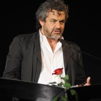 """Foto Nicoloro G. 28/06/2011 Milano Terza serata della dodicesima edizione de """" La Milanesiana """" che quest' anno ha per tema """" Bugie e Verita' """". nella foto Edoardo Nesi"""