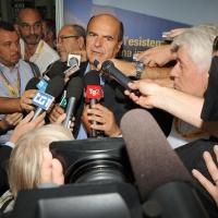 """Foto Nicoloro G. 27/08/2011 Rimini Settima ed ultima giornata del Meeting di Rimini 2011 che ha per titolo """" E l' esistenza diventa una immensa certezza """". nella foto Pier Luigi Bersani"""