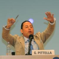 """Foto Nicoloro G. 27/08/2011 Rimini Settima ed ultima giornata del Meeting di Rimini 2011 che ha per titolo """" E l' esistenza diventa una immensa certezza """". nella foto Gianni Pittella"""