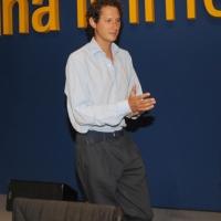 """Foto Nicoloro G. 24/08/2011 Rimini Quarta giornata dell' edizione 2011 del Meeting di Rimini che ha per titolo """" E l' esistenza diventa una immensa certezza """". nella foto John Elkann"""