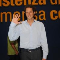 """NIK_9Foto Nicoloro G. 24/08/2011 Rimini Quarta giornata dell' edizione 2011 del Meeting di Rimini che ha per titolo """" E l' esistenza diventa una immensa certezza """". nella foto John Elkann"""