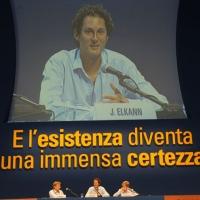 """Foto Nicoloro G. 24/08/2011 Rimini Quarta giornata dell' edizione 2011 del Meeting di Rimini che ha per titolo """" E l' esistenza diventa una immensa certezza """". nella foto L'intervento di John Elkann"""