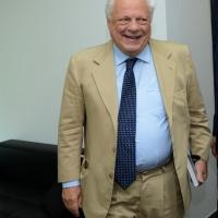 """Foto Nicoloro G. 26/06/2013 Milano Ottava giornata della quattordicesima edizione de """" La Milanesiana """" che ha per tema """" Il segreto """". nella foto Piergaetano Marchetti"""