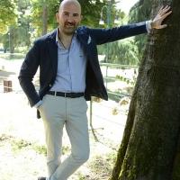 """Foto Nicoloro G. 23/06/2013 Milano Sesta giornata della quattordicesima edizione de """" La Milanesiana """" che ha per tema """" Il segreto """". nella foto Donato Carrisi"""