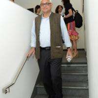 """Foto Nicoloro G. 25/06/2013 Milano Settima giornata della quattordicesima edizione de """" La Milanesiana """" che ha per tema """" Il segreto """". nella foto Amitav Ghosh"""