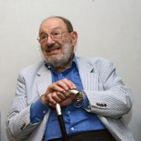 """Foto Nicoloro G. 25/06/2013 Milano Settima giornata della quattordicesima edizione de """" La Milanesiana """" che ha per tema """" Il segreto """". nella foto Umberto Eco"""