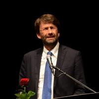 """Foto Nicoloro G.  23/06/2014  Milano   Quindicesima edizione de """" La Milanesiana """" che quest' anno ha per tema la """" Fortuna """". nella foto il ministro Dario Franceschini."""