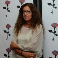 """Foto Nicoloro G.  24/06/2014  Milano   Seconda giornata della quindicesima edizione de """" La Milanesiana """" che quest' anno ha per tema la """" Fortuna """". nella foto la scrittrice Melania Mazzucco."""