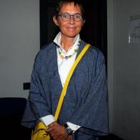 """Foto Nicoloro G.  25/06/2014  Milano   Terza giornata della quindicesima edizione de """" La Milanesiana che quest' anno ha per tema la """" Fortuna """". nella foto la scrittrice Susanna Tamaro."""