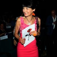 """Foto Nicoloro G.  25/06/2014  Milano   Terza giornata della quindicesima edizione de """" La Milanesiana che quest' anno ha per tema la """" Fortuna """". nella foto Elisabetta Sgarbi."""