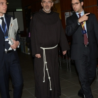 Foto Nicoloro G.  24/08/2014  Rimini   XXXV edizione del Meeting per l' amicizia fra i popoli. nella foto padre Pierbattista Pizzaballa, custode di Terrasanta.