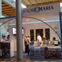 Foto Nicoloro G.  24/08/2014  Rimini   XXXV edizione del Meeting per l' amicizia fra i popoli. nella foto lo stand di Radio Maria.