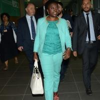 Foto Nicoloro G.   28/08/2014  Rimini     Quinta  giornata della XXXV edizione del Meeting per l' amicizia fra i popoli. nella foto l' onorevole Cècile Kyenge.