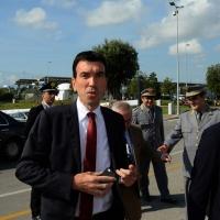 Foto Nicoloro G.   25/08/2014  Rimini     Seconda giornata della XXXV edizione del Meeting per l' amicizia fra i popoli. nella foto il ministro Maurizio Martina.