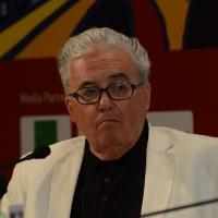Foto Nicoloro G.   29/08/2014  Rimini      Sesta giornata della XXXV edizione del Meeting per l' amicizia fra i popoli. nella foto il segretario della Pontificia Commissione per l' America Latina Guzman Carriquiry.