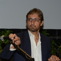 Foto Nicoloro G.   29/08/2014  Rimini      Sesta giornata della XXXV edizione del Meeting per l' amicizia fra i popoli. nella foto il sindaco di Rimini Andrea Gnassi.