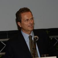 Foto Nicoloro G.   29/08/2014  Rimini      Sesta giornata della XXXV edizione del Meeting per l' amicizia fra i popoli. nella foto M. Borghesi.