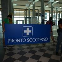 Foto Nicoloro G.   30/08/2014  Rimini   Settima ed ultima giornata della XXXV edizione del Meeting per l' amicizia fra i popoli. nella foto ultimo giorno si rimette tutto in ordine.