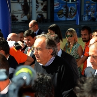 Foto Nicoloro G.   30/08/2014  Rimini   Settima ed ultima giornata della XXXV edizione del Meeting per l' amicizia fra i popoli. nella foto Sergio Marchionne.