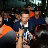 Foto Nicoloro G.   26/08/2014  Rimini     Terza  giornata della XXXV edizione del Meeting per l' amicizia fra i popoli. nella foto il ministro Maurizio Lupi al suo arrivo in Fiera.