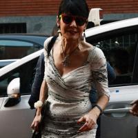 """Foto Nicoloro G.  01/07/2015  Milano    Decima serata della sedicesima edizione de """" La Milanesiana """" che ha per titolo """" Manie e Ossessioni """". nella foto Elisabetta Sgarbi."""