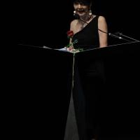 """Foto Nicoloro G.  25/06/2015  Milano    Quarta serata della sedicesima edizione de """" La Milanesiana """". nella foto Elisabetta Sgarbi."""