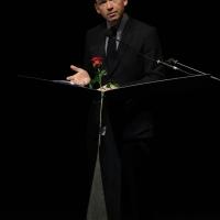 """Foto Nicoloro G.  25/06/2015  Milano    Quarta serata della sedicesima edizione de """" La Milanesiana """". nella foto lo scrittore David Nicholls."""