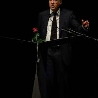 """Foto Nicoloro G.  25/06/2015  Milano    Quarta serata della sedicesima edizione de """" La Milanesiana """". nella foto il direttore editoriale di Neri Pozza Giuseppe Russo."""