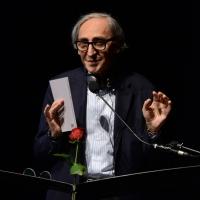 """Foto Nicoloro G.  23/06/2015  Milano    Seconda serata della sedicesima edizione de """" La Milanesiana """". nella foto il cantautore Franco Battiato."""