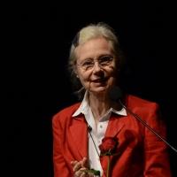 """Foto Nicoloro G.  23/06/2015  Milano    Seconda serata della sedicesima edizione de """" La Milanesiana """". nella foto la scrittrice Fleur Jaeggy."""