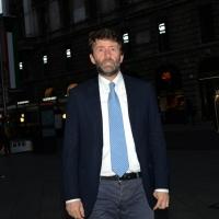 """Foto Nicoloro G.  22/06/2015  Milano   Si è aperta ufficialmente la sedicesima edizione de """" La Milanesiana """". nella foto il ministro Dario Franceschini al suo arrivo."""