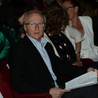 """Foto Nicoloro G.  22/06/2015  Milano   Si è aperta ufficialmente la sedicesima edizione de """" La Milanesiana """". nella foto lo scrittore David Grossman."""