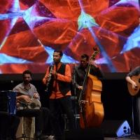 """Foto Nicoloro G.  22/06/2015  Milano   Si è aperta ufficialmente la sedicesima edizione de """" La Milanesiana """". nella foto il gruppo musicale """" Gipsy Klezmer Orchestra """" di Barcellona."""