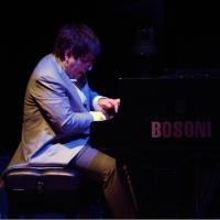 """Foto Nicoloro G.  27/06/2015  Milano    Sesta serata della sedicesima edizione de """" La Milanesiana """" che ha per titolo """" Manie e ossessioni """". nella foto il pianista Ramin Bahrami."""
