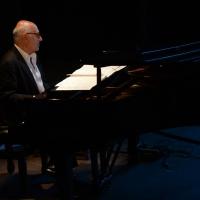 """Foto Nicoloro G.  24/06/2015  Milano    Terza serata della sedicesima edizione de """" La Milanesiana """" che ha per titolo """" Manie e ossessioni """". nella foto il pianista Michael Nyman."""