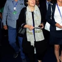 Foto Nicoloro G.  20/08/2015  Rimini,  Al via l'edizione 2015 del Meeting di CL dal titolo 'Di che è mancanza questa mancanza, cuore, che a un tratto ne sei pieno?'. nella foto Rula Ghani, First Lady della Repubblica Islamica dell' Afghanistan.