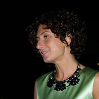 Foto Nicoloro G.   21/08/2015    Rimini  Seconda giornata dell' edizione 2015 del Meeting di C.L. dal titolo ' Di che è mancanza questa mancanza, cuore, che a un tratto ne sei pieno ? '. nella foto la moglie del presidente del Consiglio Agnese Landini in visita al Meeting.