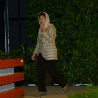 Foto Nicoloro G.   21/08/2015    Rimini  Seconda giornata dell' edizione 2015 del Meeting di C.L. dal titolo ' Di che è mancanza questa mancanza, cuore, che a un tratto ne sei pieno ? '. nella foto la First Lady della Repubblica Islamica dell' Afghanistan Rula Ghani.