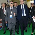 27/03/2019   Ravenna   XIV edizione dell' OMC - Offshore Mediterranean Conference -. nella foto il sottosegretario Giancarlo Giorgetti, a destra, con il presidente OMC Innocenzo Titone.