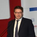 Foto Nicoloro G.   27/03/2019   Ravenna   XIV edizione dell' OMC - Offshore Mediterranean Conference -. nella foto il sottosegretario Giancarlo Giorgetti.