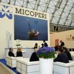 Foto Nicoloro G.   27/03/2019   Ravenna   XIV edizione dell' OMC - Offshore Mediterranean Conference -. nella foto lo stand Micoperi.