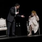 Foto Nicoloro G.   14/06/2021   Milano     Edizione 2021 de La Milanesiana con una serata dedicata alla figura del regista Giorgio Strehler a 100 anni dalla nascita. nella foto i cantanti Massimo Ranieri ed Ornella Vanoni.
