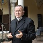 Foto Nicoloro G.   04/09/2021   Ravenna   Apertura ufficiale del Festival Dante 2021 nell' ambito delle Celebrazioni del 700° anniversario della morte del Sommo Poeta. nella foto l' arcivescovo Lorenzo Ghizzoni.