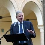 Foto Nicoloro G.   11/09/2021   Ravenna   Intervento del governatore della Banca d' Italia al Festival Dante 2021. nell' ambito delle Celebrazioni del 700° anniversario della morte del Sommo Poeta. nella foto il governatore della Banca d' Italia Ignazio Visco.