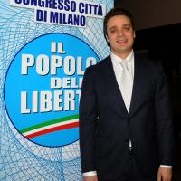 Foto Nicoloro G. 03/03/2012 Milano Congresso del PdL per l' elezione del coordinatore cittadino. nella foto Pietro Tatarella