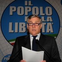 Foto Nicoloro G. 03/03/2012 Milano Congresso del PdL per l' elezione del coordinatore cittadino. nella foto Antonio Tajani