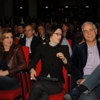 Foto Nicoloro G. 03/03/2012 Milano Congresso del PdL per l' elezione del coordinatore cittadino. nella foto Daniela Santanche' – Mariastella Gelmini – Roberto Formigoni
